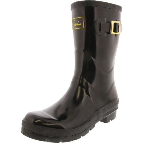 Joules Women's Kelly Welly Gloss Mid-Calf Rubber Rain Boot