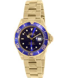 Invicta Men's Swiss Pro Diver Q 9312 Gold Stainless-Steel Swiss Quartz Watch
