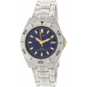 Pulsar Men's PXD681X Silver Stainless-Steel Quartz Watch