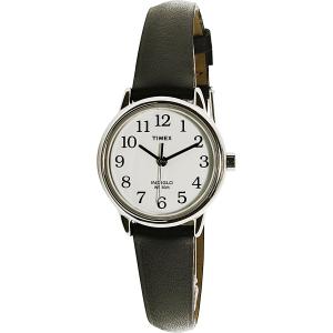 Timex Women's Easy Reader T20441 Black Leather Quartz Watch