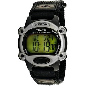 Timex Men's Expedition T48061 Black Nylon Quartz Watch