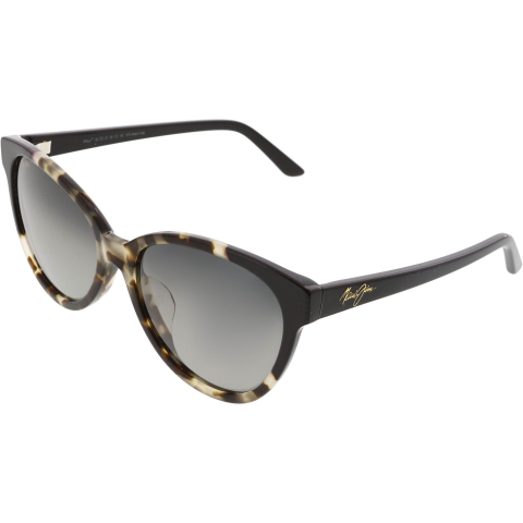 Maui Jim Women's Polarized Sunshine GS725-61 White Cat Eye Sunglasses