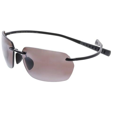 Maui Jim Polarized Alaka'I R743-02 Brown Rimless Sunglasses