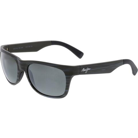 Maui Jim Polarized Kahi 736-63W Grey Rectangle Sunglasses