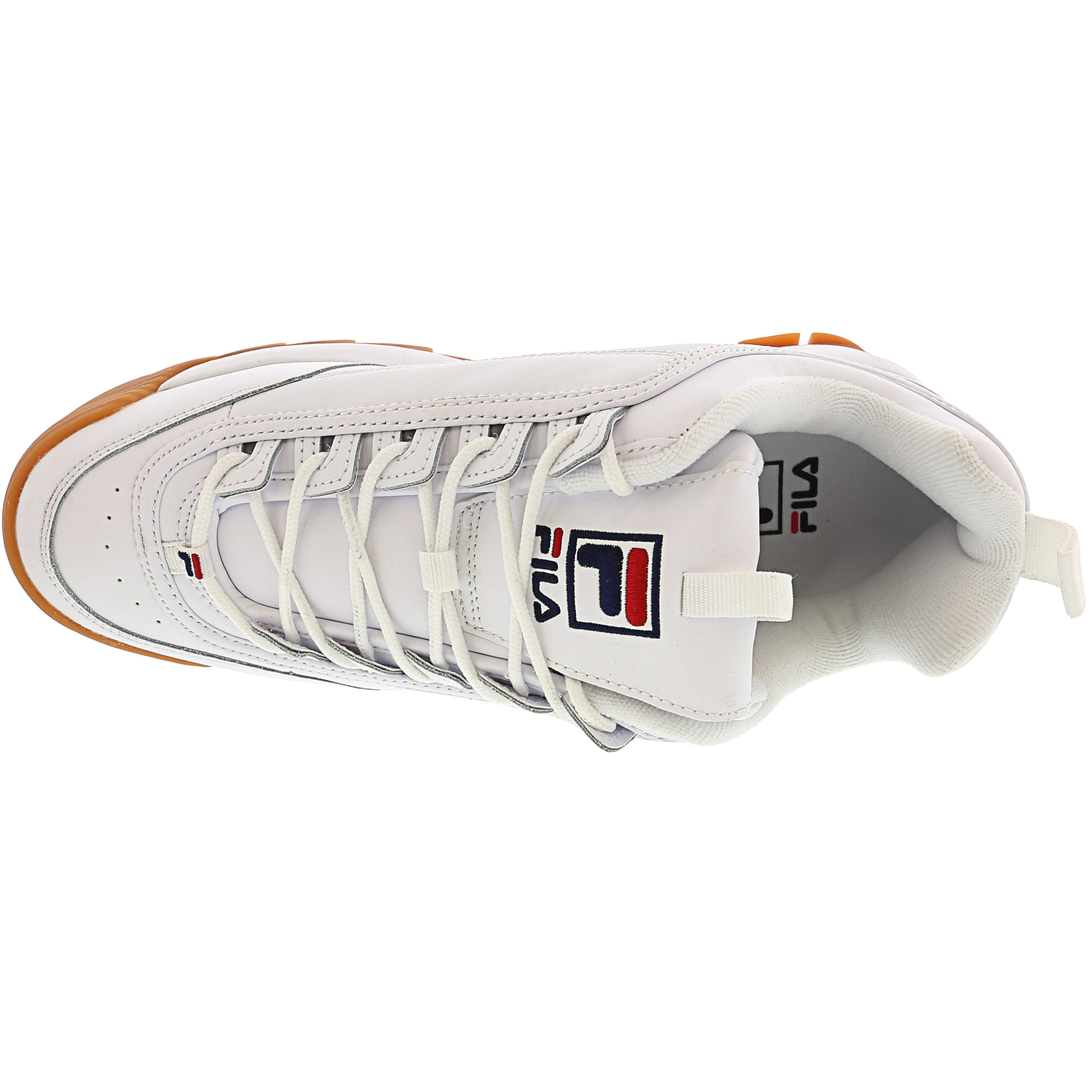 Fila-Men-039-s-Disruptor-Ii-Premium-Ankle-High-Patent-Leather-Fashion-Sneaker thumbnail 28