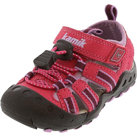 Kamik Girl's Crab Ankle-High Sport Sandals & Slide