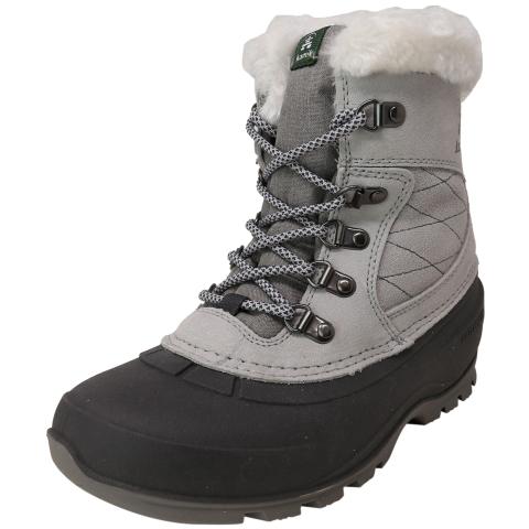 Kamik Women's Snovalleyl Mid-Calf Leather Snow Boot