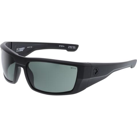 Spy Men's Anti-reflective Dirk Ansi 672052243863 Black Rectangle Sunglasses