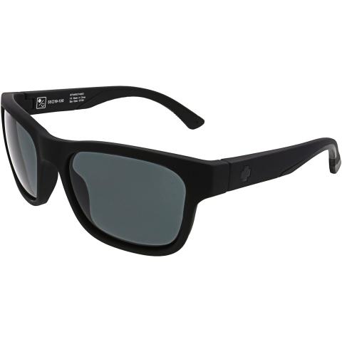 Spy Men's Hunt 673469374863 Black Rectangle Sunglasses
