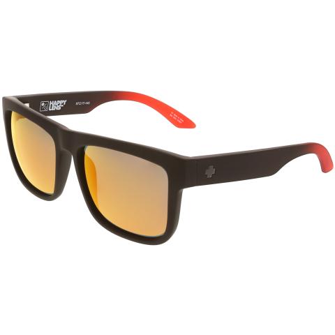 Spy Mirrored Discord 673119803673 Black Rectangle Sunglasses