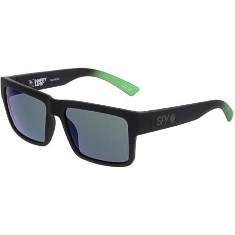 Spy Men's Mirrored Montana 673407843695 Black Rectangle Sunglasses