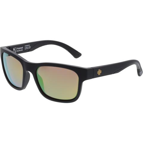 Spy Men's Polarized Hunt 673469068763 Black Square Sunglasses