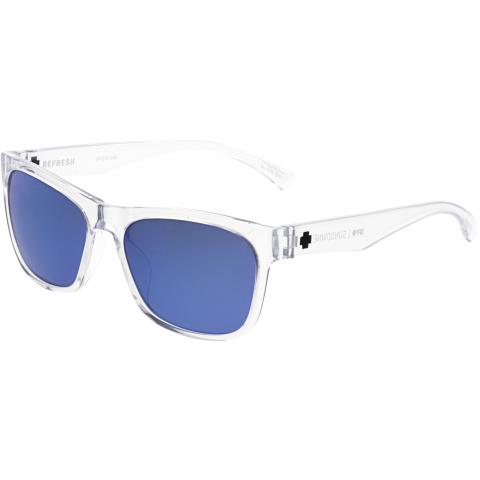 Spy Mirrored Sundowner 673513222335 Clear Rectangle Sunglasses