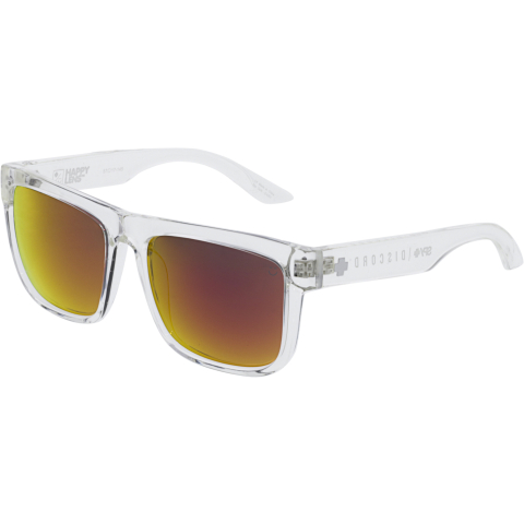 Spy Mirrored Discord 673119183365 Clear Rectangle Sunglasses