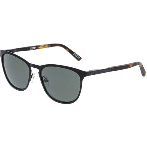 Spy Polarized Cliffside 873500764864 Black Rectangle Sunglasses