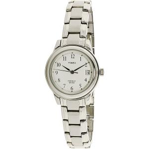Timex Women's T29271 Silver Stainless-Steel Quartz Watch