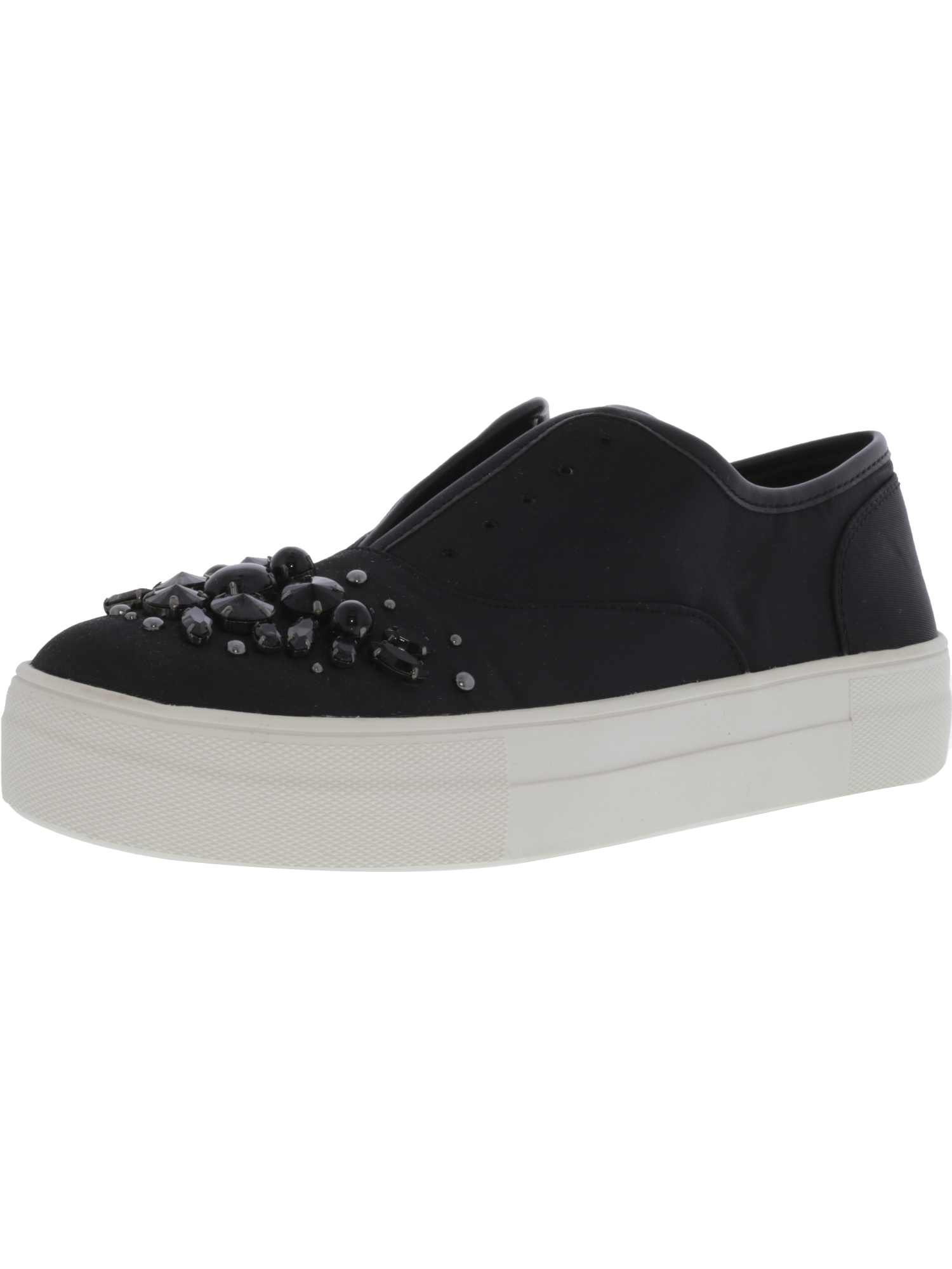 Steve-Madden-Women-039-s-Passion-Ankle-High-Fabric-Slip-On-Shoes thumbnail 5