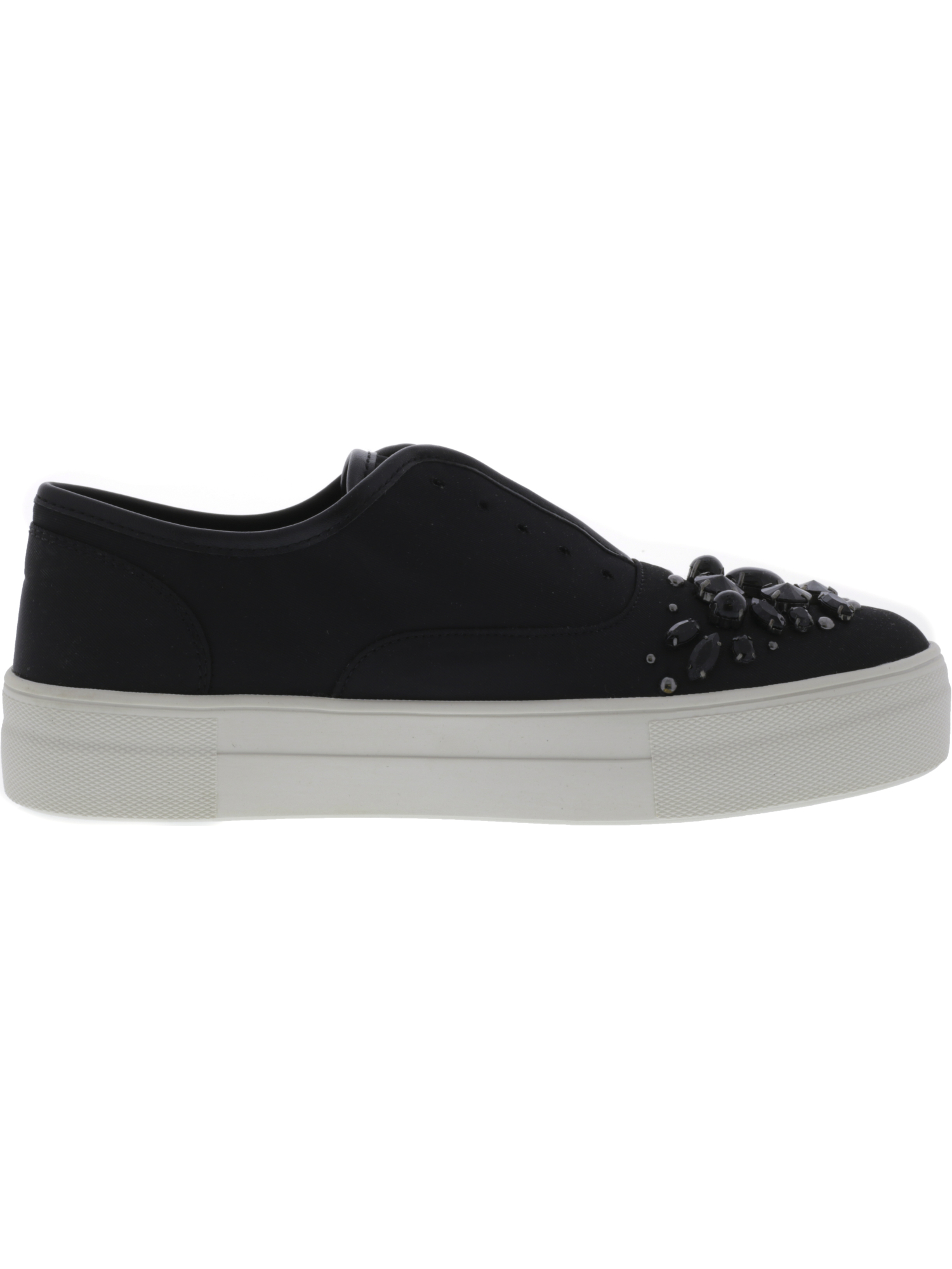 Steve-Madden-Women-039-s-Passion-Ankle-High-Fabric-Slip-On-Shoes thumbnail 6