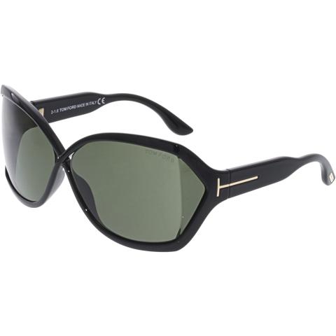 Tom Ford Julianne FT0427-01N-62 Black Butterfly Sunglasses