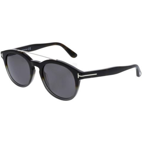 Tom Ford Newman FT0515-56A-53 Brown Oval Sunglasses