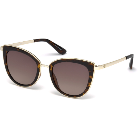 Guess Women's Gradient Gu7491 GU7491-52F-52 Brown Cat Eye Sunglasses