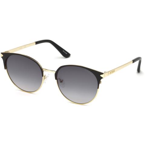 Guess Women's Gradient Gu7516 GU7516-02B-53 Gold Cat Eye Sunglasses
