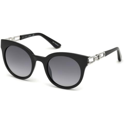 Guess Women's Gradient Gu7537 GU7537-S-05B-50 Black Cat Eye Sunglasses
