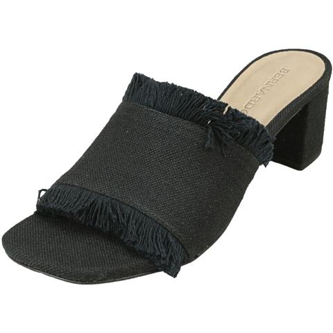 Bernardo Women's Blaire Linen Fabric Heel