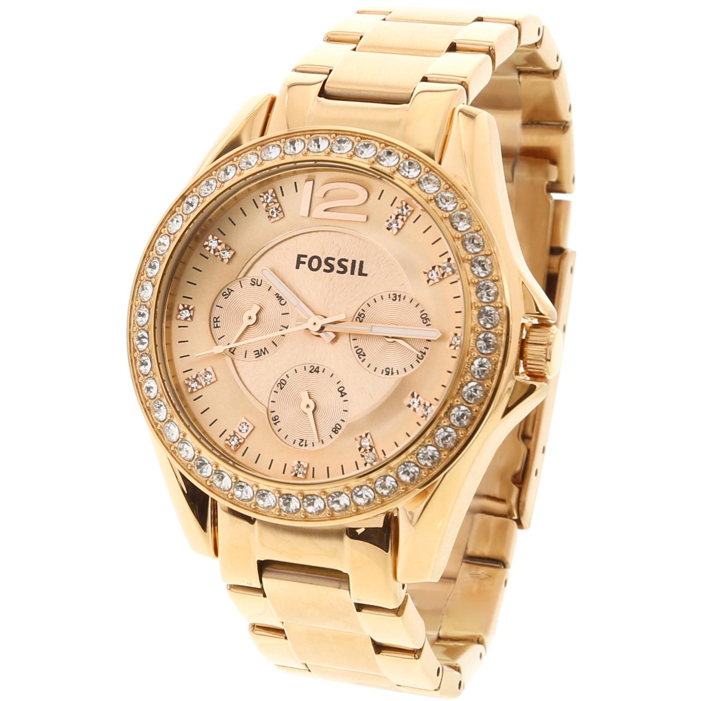 Fossil_Womens_Riley_ES2811_RoseGold_StainlessSteel_Analog_Quartz_Fashion_Watch