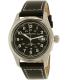 Hamilton Men's Khaki Field Automatic H70455733 Black Leather Swiss Automatic Watch - Main Image Swatch