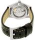 Hamilton Men's Khaki Field Automatic H70455733 Black Leather Swiss Automatic Watch - Back Image Swatch