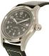Hamilton Men's Khaki Field Automatic H70455733 Black Leather Swiss Automatic Watch - Side Image Swatch