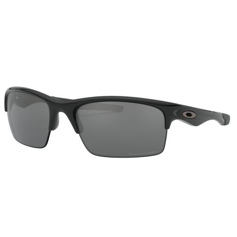 Oakley Men's Polarized Bottle Rocket OO9164-01 Black Wrap Sunglasses
