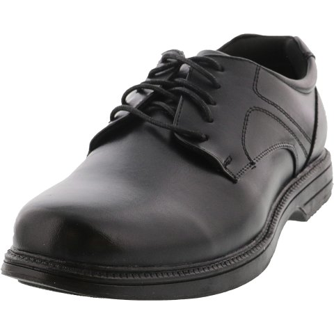 Deer Stags Men's Nu Times Smooth Ankle-High Leather Oxford