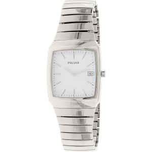 Pulsar Men's PXD931 Silver Stainless-Steel Quartz Watch