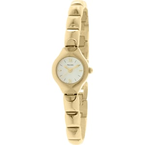 Pulsar Women's PPH538 Gold Stainless-Steel Quartz Watch