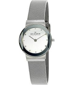 Skagen Women's Classic 358SSSD White Stainless-Steel Quartz Watch