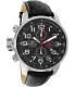 Invicta Men's 2770 Black Leather Quartz Watch - Main Image Swatch