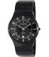 Skagen Men's Classic 233XLTMB Black Titanium Quartz Watch - Main Image Swatch