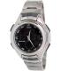 Casio Men's Core AQ160WD-1BV Silver Stainless-Steel Quartz Watch - Main Image Swatch