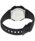 Casio Men's Core W753-1AV Black Resin Quartz Watch - Back Image Swatch