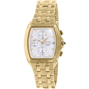 Seiko Men's SNA654 Gold Stainless-Steel Quartz Watch
