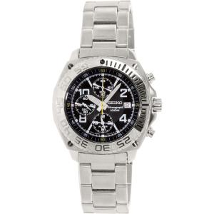 Seiko Men's SNA617 Silver Stainless-Steel Quartz Watch