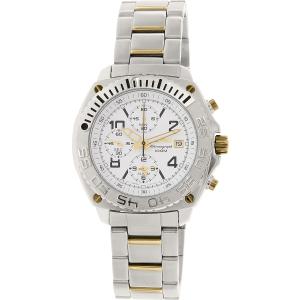 Seiko Men's SNA619 Silver Stainless-Steel Quartz Watch