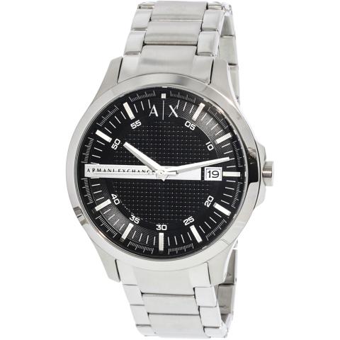 Armani Exchange Men's AX2103 Silver Stainless-Steel Japanese Quartz Fashion Watch