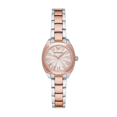 Emporio Armani Women's Gamma AR1952 Rose-Gold Stainless-Steel Quartz Fashion Watch