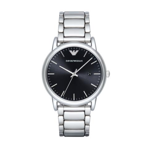 Emporio Armani Men's Luigi AR2499 Silver Stainless-Steel Quartz Dress Watch