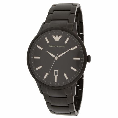 Emporio Armani Men's Renato AR11184 Black Stainless-Steel Quartz Dress Watch