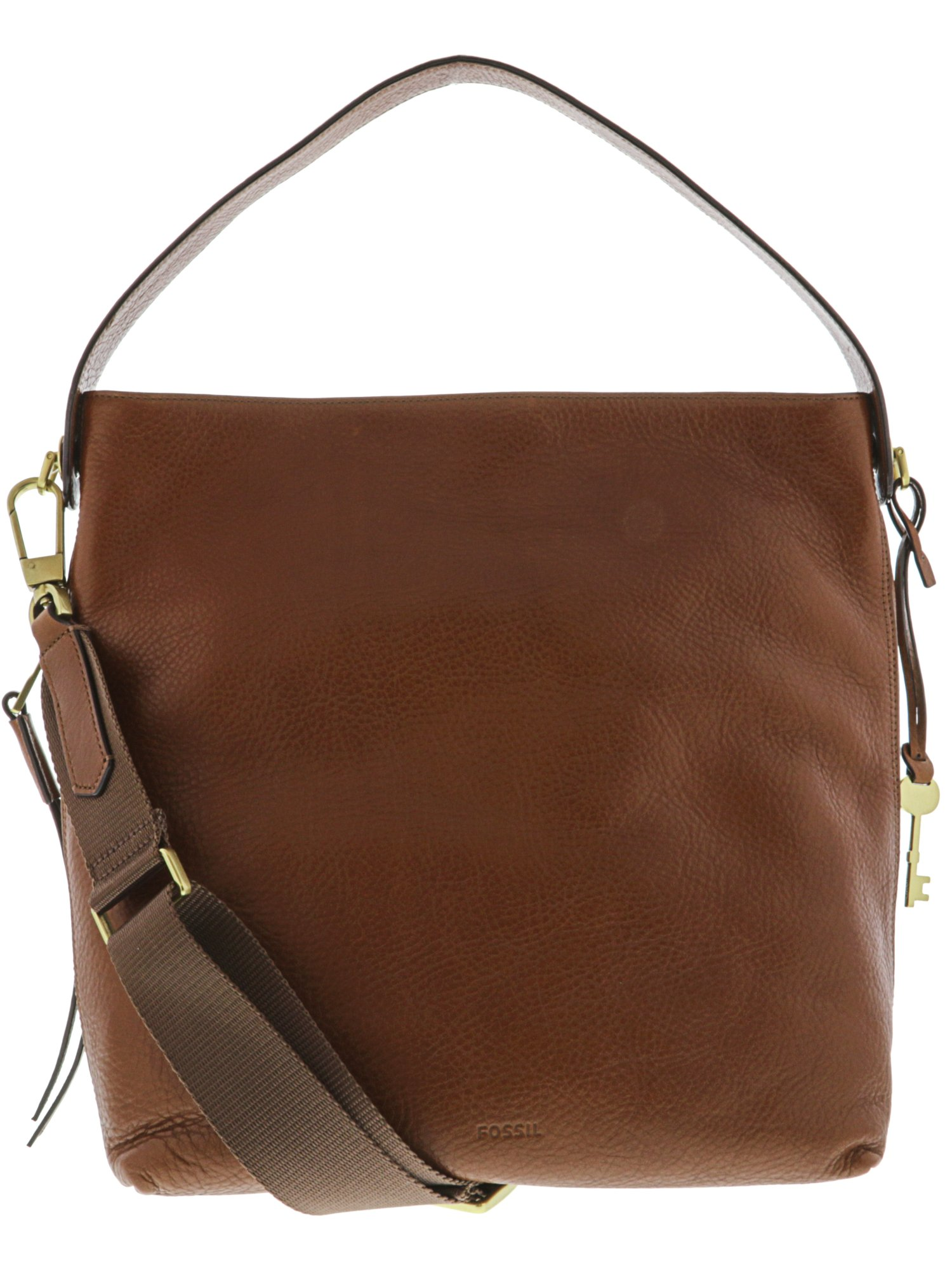 6c8bd4a4a8 Fossil Women s Maya Small Leather Cross Body Bag Hobo