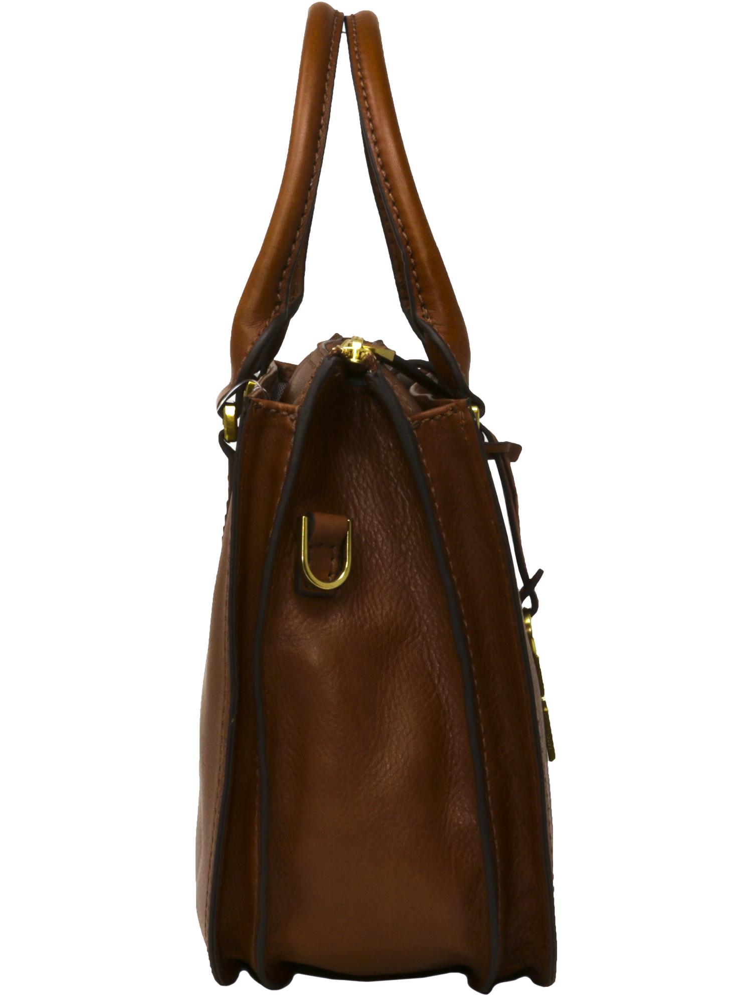 Fossil Women S Ryder Satchel Brown Bag Zb7412200